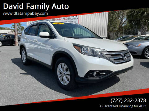 2013 Honda CR-V for sale at David Family Auto in New Port Richey FL