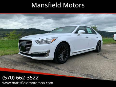 2018 Genesis G90 for sale at Mansfield Motors in Mansfield PA
