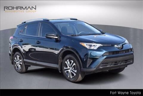 2018 Toyota RAV4 for sale at BOB ROHRMAN FORT WAYNE TOYOTA in Fort Wayne IN