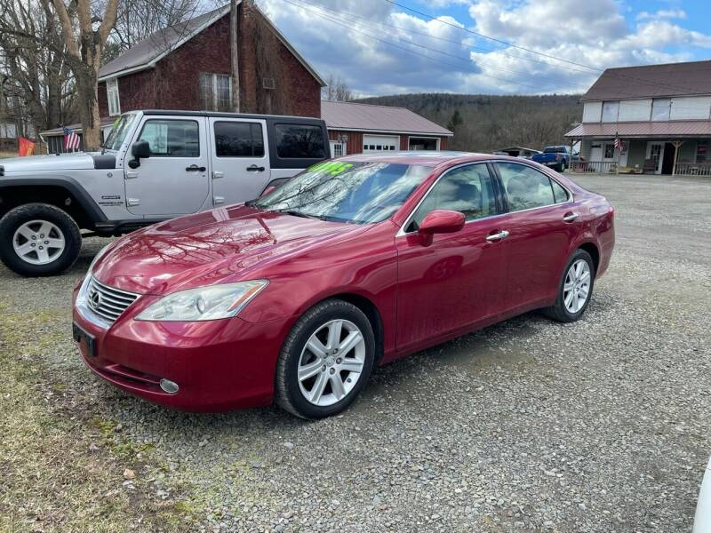 2009 Lexus ES 350 for sale at Brush & Palette Auto in Candor NY