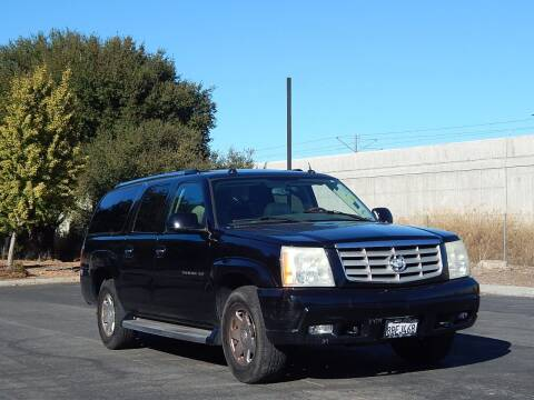 2004 Cadillac Escalade ESV for sale at Crow`s Auto Sales in San Jose CA