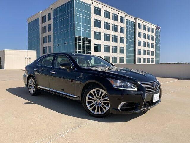 2017 Lexus LS 460 for sale at SIGNATURE Sales & Consignment in Austin TX