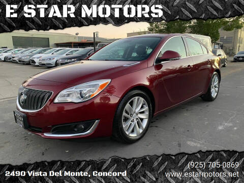 2016 Buick Regal for sale at E STAR MOTORS in Concord CA