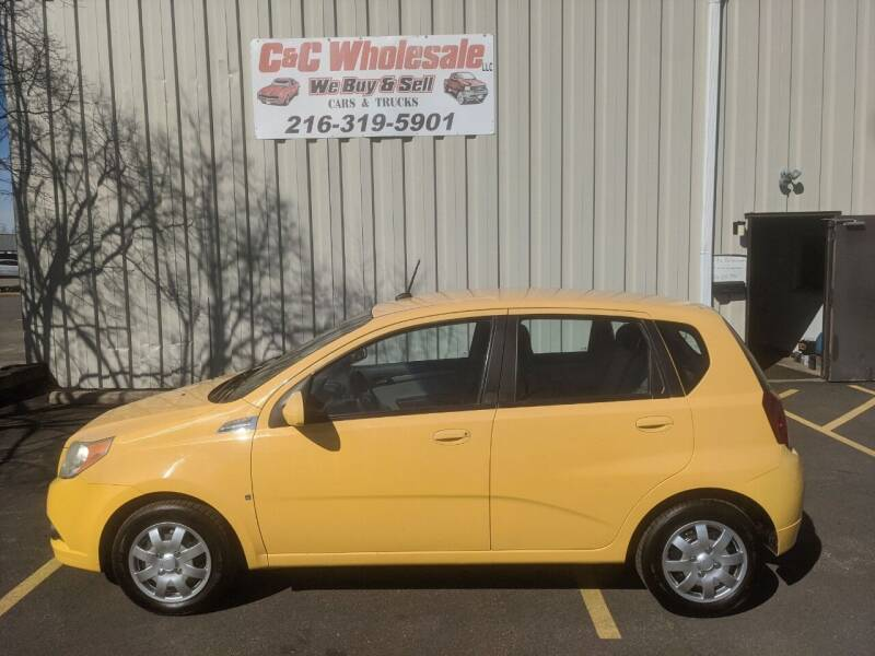 2009 Chevrolet Aveo for sale at C & C Wholesale in Cleveland OH