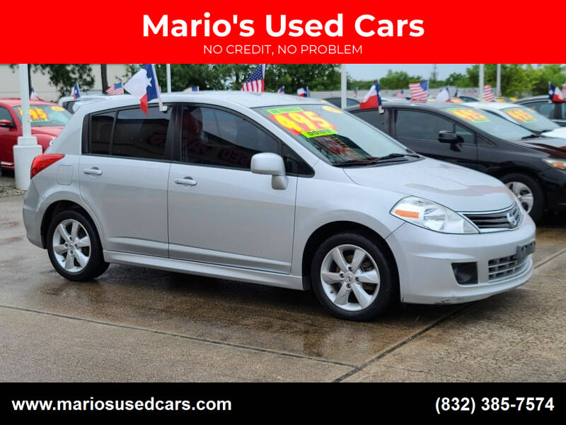 2012 Nissan Versa for sale at Mario's Used Cars in Houston TX