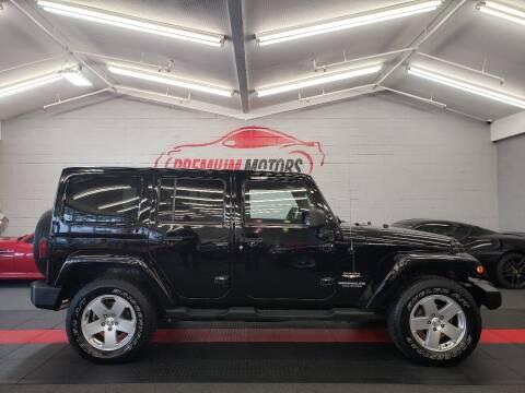 2011 Jeep Wrangler Unlimited for sale at Premium Motors in Villa Park IL