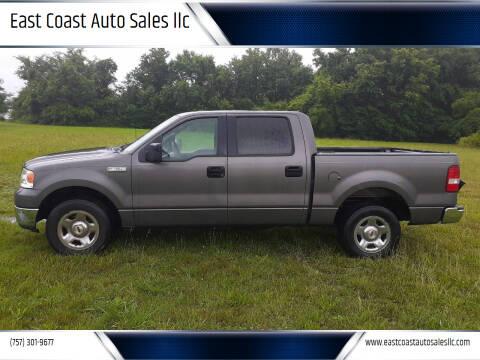 2005 Ford F-150 for sale at East Coast Auto Sales llc in Virginia Beach VA