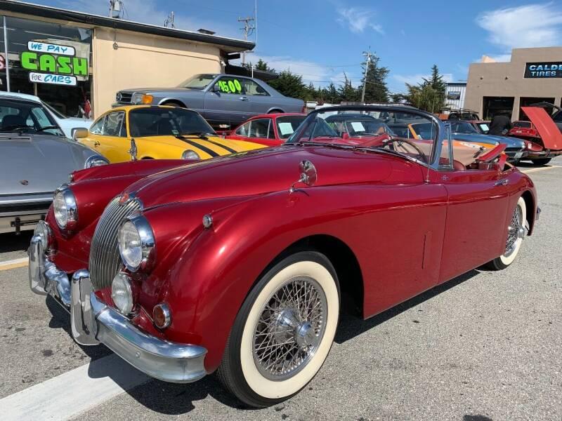 1957 Jaguar XK for sale at Dodi Auto Sales in Monterey CA