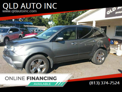 2007 Acura MDX for sale at QLD AUTO INC in Tampa FL