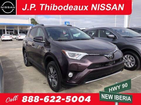 2018 Toyota RAV4 for sale at J P Thibodeaux Used Cars in New Iberia LA