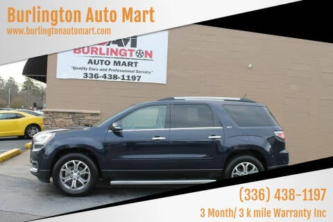 2015 GMC Acadia for sale at Burlington Auto Mart in Burlington NC