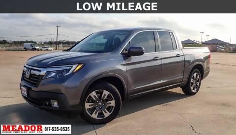 2017 Honda Ridgeline for sale at Meador Dodge Chrysler Jeep RAM in Fort Worth TX