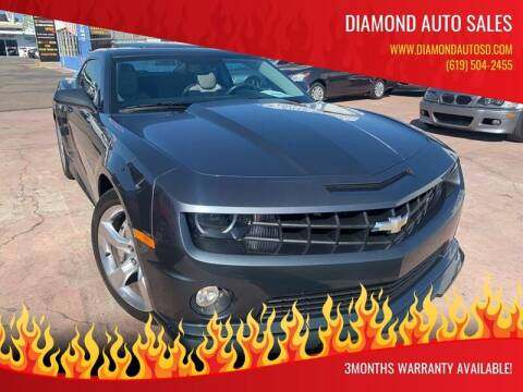 2011 Chevrolet Camaro for sale at DIAMOND AUTO SALES in El Cajon CA