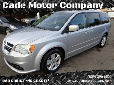 2012 Dodge Grand Caravan for sale at Cade Motor Company in Lawrenceville NJ
