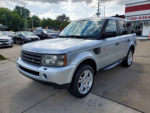 2006 Land Rover Range Rover Sport for sale at Quallys Auto Sales in Olathe KS