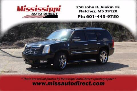 2010 Cadillac Escalade for sale at Auto Group South - Mississippi Auto Direct in Natchez MS