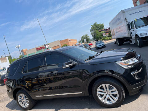 2018 Ford Explorer for sale at Sanaa Auto Sales LLC in Denver CO