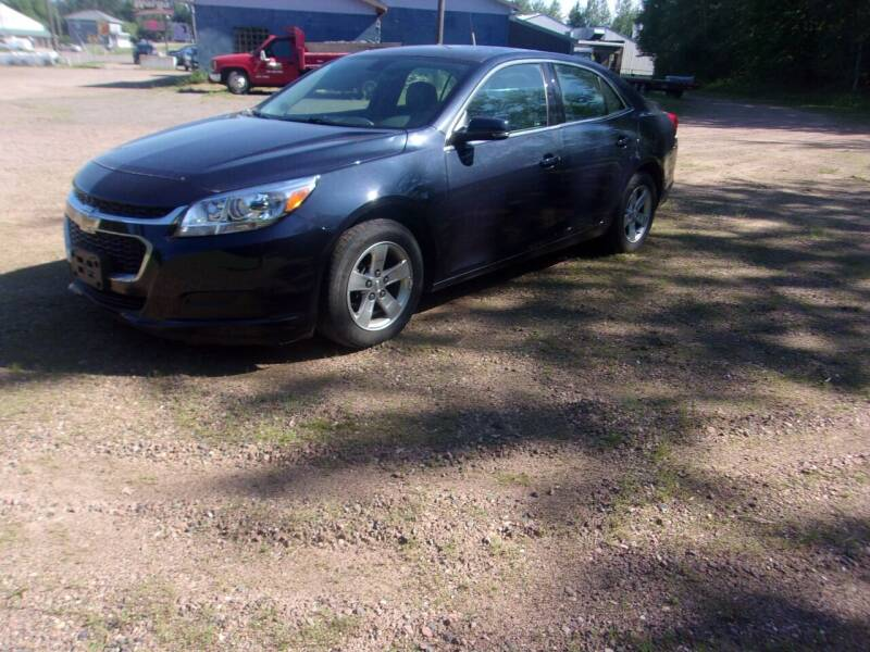 2016 Chevrolet Malibu Limited for sale at Warga Auto and Truck Center in Phillips WI