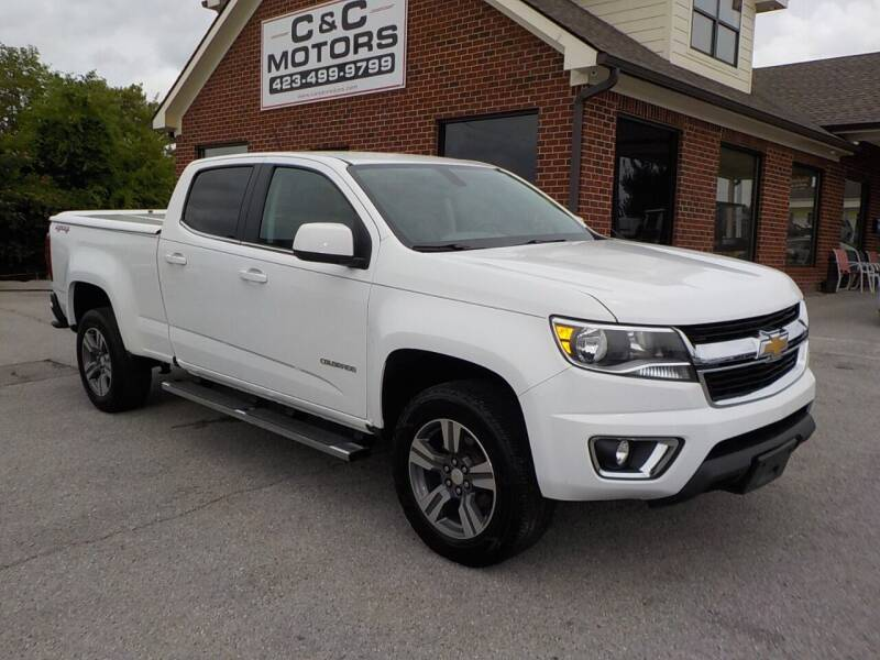2016 Chevrolet Colorado for sale at C & C MOTORS in Chattanooga TN