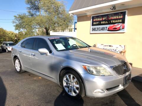 2008 Lexus LS 460 for sale at DEALZ ON WHEELZ in Winchester VA