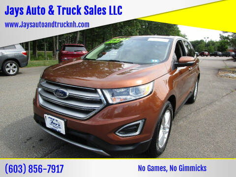 2017 Ford Edge for sale at Jays Auto & Truck Sales LLC in Loudon NH