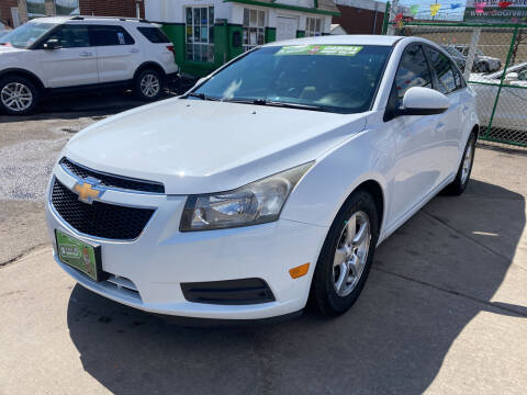 2011 Chevrolet Cruze for sale at GO GREEN MOTORS in Denver CO