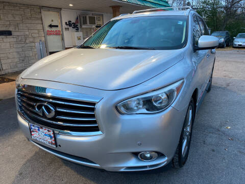 2013 Infiniti JX35 for sale at New Wheels in Glendale Heights IL