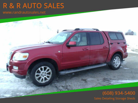 2007 Ford Explorer Sport Trac for sale at R & R AUTO SALES in Juda WI