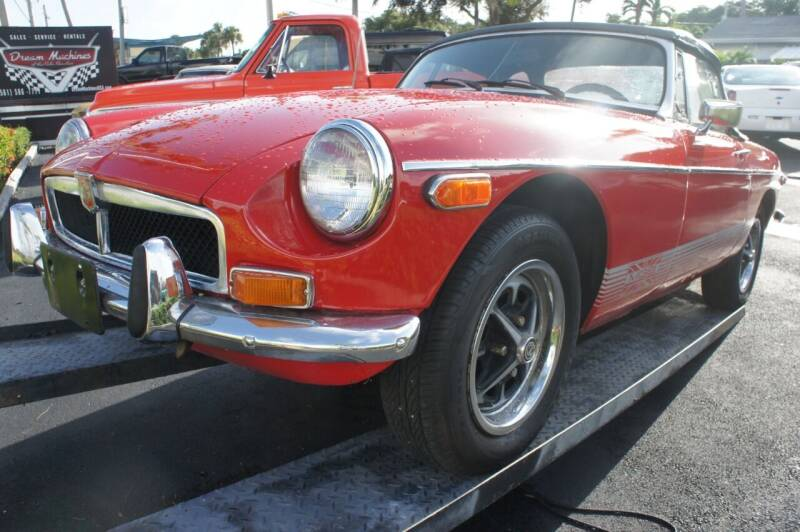 1974 MG MGB for sale at Dream Machines USA in Lantana FL