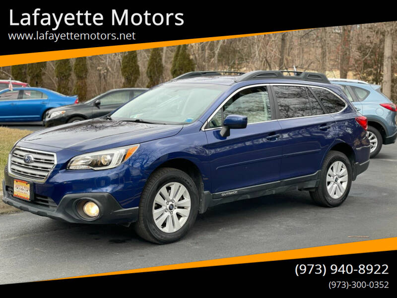 2015 Subaru Outback for sale at Lafayette Motors 2 in Andover NJ