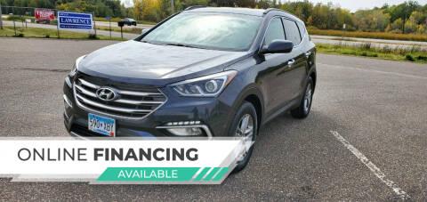 2017 Hyundai Santa Fe Sport for sale at Transmart Autos in Zimmerman MN