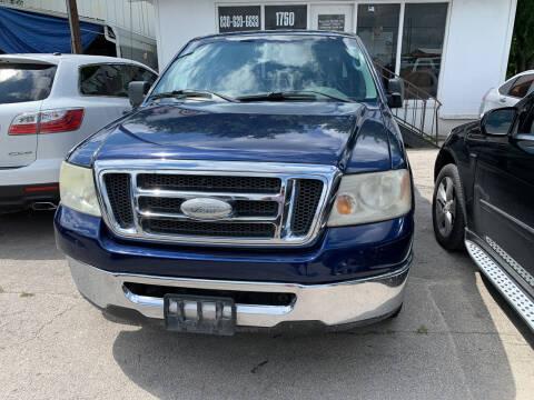 2008 Ford F-150 for sale at BULLSEYE MOTORS INC in New Braunfels TX