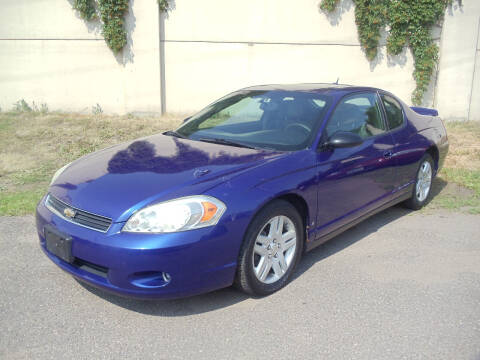 2006 Chevrolet Monte Carlo for sale at Metro Motor Sales in Minneapolis MN
