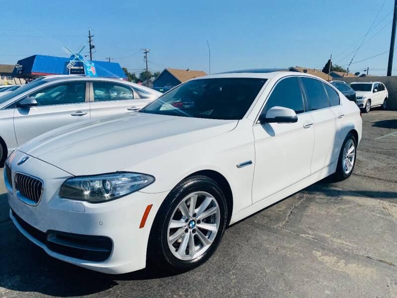 2014 BMW 5 Series for sale at Sunset Motors in Manteca CA