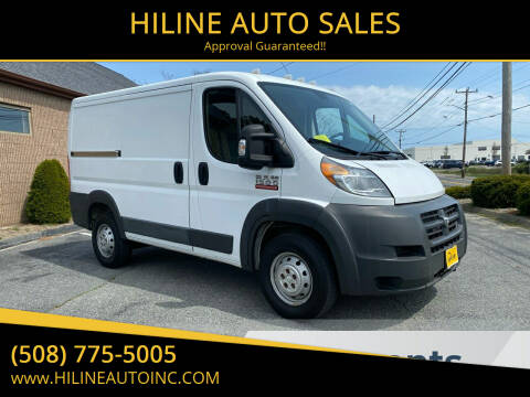 2015 RAM ProMaster Cargo for sale at HILINE AUTO SALES in Hyannis MA