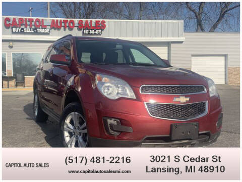 2011 Chevrolet Equinox for sale at Capitol Auto Sales in Lansing MI