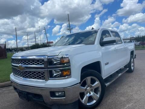 2014 Chevrolet Silverado 1500 for sale at TWIN CITY MOTORS in Houston TX