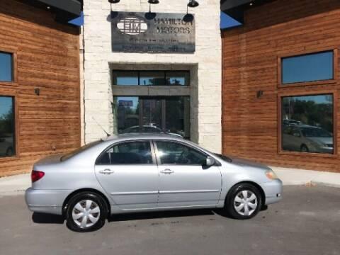 2008 Toyota Corolla for sale at Hamilton Motors in Lehi UT