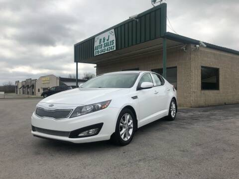 2012 Kia Optima for sale at B & J Auto Sales in Auburn KY