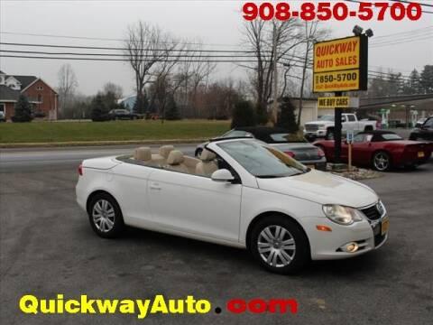 2008 Volkswagen Eos for sale at Quickway Auto Sales in Hackettstown NJ