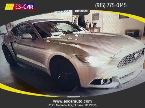 2015 Ford Mustang for sale at Escar Auto in El Paso TX