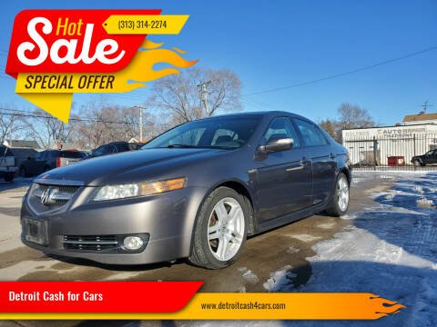 2008 Acura TL for sale at Detroit Cash for Cars in Warren MI