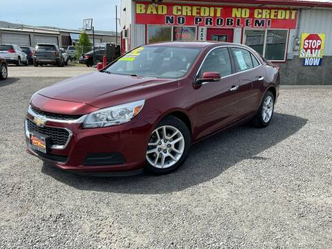 2015 Chevrolet Malibu for sale at Yaktown Motors in Union Gap WA