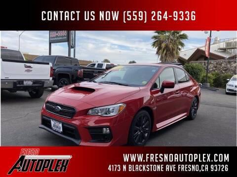 2018 Subaru WRX for sale at Carros Usados Fresno in Fresno CA