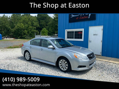2012 Subaru Legacy for sale at The Shop at Easton in Easton MD