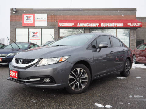 2013 Honda Civic for sale at AutoCredit SuperStore in Lowell MA