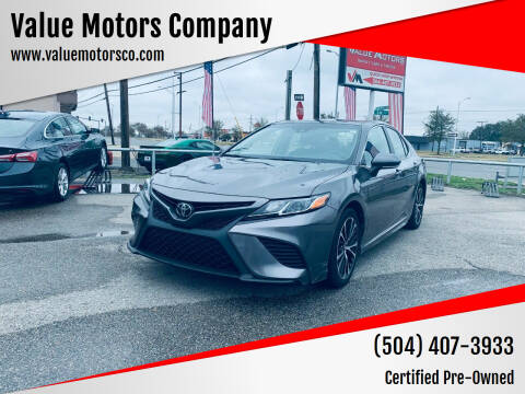 2016 Toyota Camry for sale at Value Motors Company in Marrero LA
