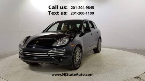 2014 Porsche Cayenne for sale at NJ State Auto Used Cars in Jersey City NJ
