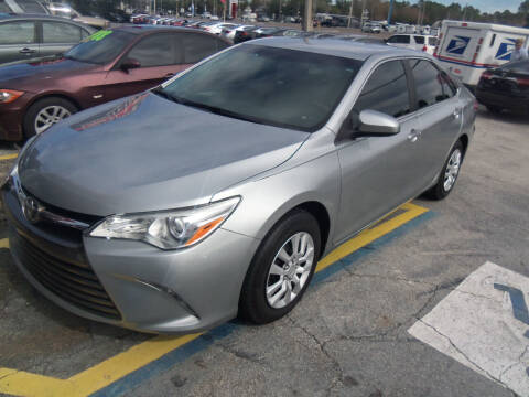 2016 Toyota Camry for sale at ORANGE PARK AUTO in Jacksonville FL