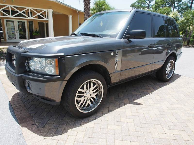 2006 Land Rover Range Rover for sale at Gulf Financial Solutions Inc DBA GFS Autos in Panama City Beach FL